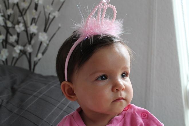 Princess Zoë in her pyjamas!
