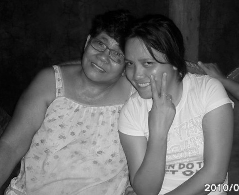 With my Lola Cion