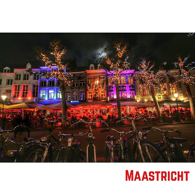 Maastricht at night